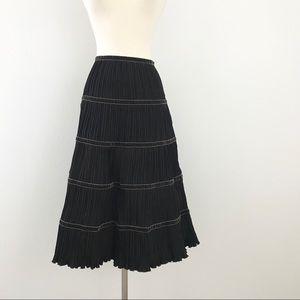 Max Mara NWOT pleated midi skirt size 6